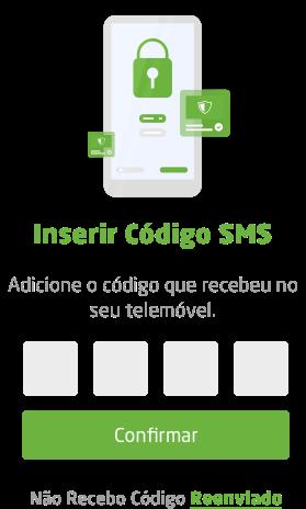 Inserir Còdigo SMS